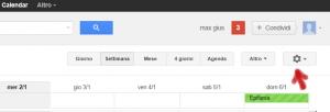 Configurazione Google Calendar