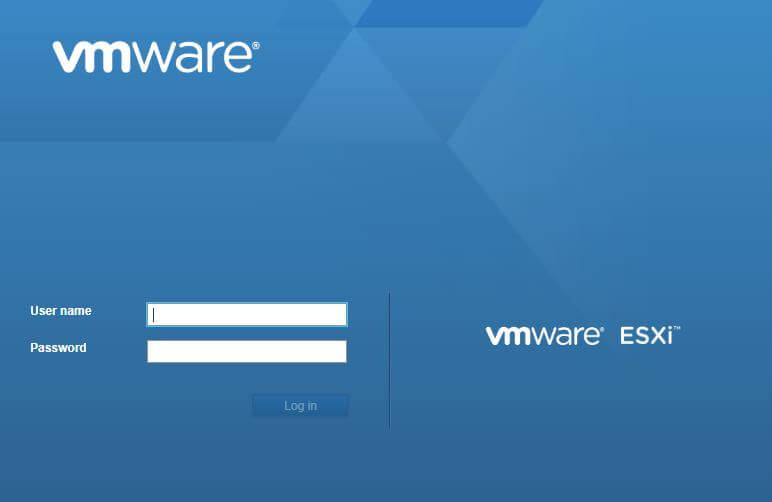 virtualizzazione con vmware ESXi